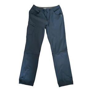 "Mountain Hardware Womens Convertible Hiking Pants Gray Size 6/ 32"" Inseam"