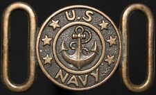 More details for u.s. navy belt buckle | collectables | km coins