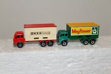 MATCHBOX #42 MERCEDES CONTAINER TRUCK MAYFLOWER & N.Y.K  NO BOX