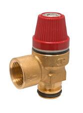 Altecnic Caleffi 6 Bar Pressure Relief Valve (Push Fit O-Ring Type) - 312007CST