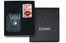 Zippo Gift Box For Regular Size w/ Harley Pouch HDP6