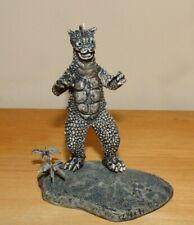 """2003 IWAKURA 3"""" Tall GABARA DIORAMA Mini HG Figure Gashapon Godzilla"""