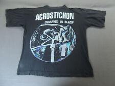 ACROSTICHON Shirt, RAR, Death Metal, Sinister, Asphyx, Houwitser, Pestilence