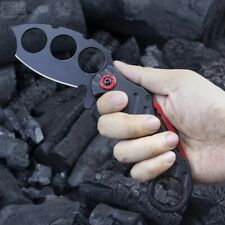 KARAMBIT Outdoor Folding Pocket Knife Camping Tactical Portable Knives EDC Tool