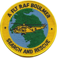 RAF Search and Rescue Boulmer Embroidered Patch ** LAST FEW **