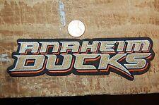 """Anaheim Ducks 6 1/8"""" Patch 2006-Presemt Wordmark Logo Hockey"""