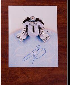 GFA Colorado Avalanche SEMYON VARLAMOV Signed 11x14 Photo AD1 COA