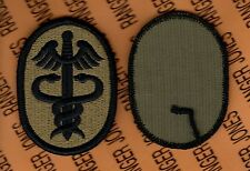US Army Health Services Command Medical OCP Hook & Loop patch