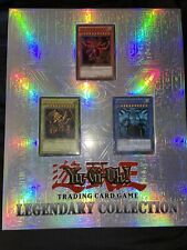 Yu-Gi-Oh Legendary Collection LC01 Binder With God Cards