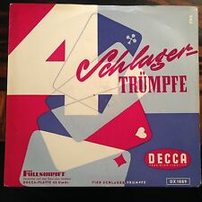 7'EP 4 Schlager-Trümpfe >Lys Assia/Vico Torriani/ua.<  Decca 50er Jahre
