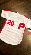 Philadelphia Phillies 1976 Mike Schmidt #20 Jersey 40/Large Mitchell & Ness NWT