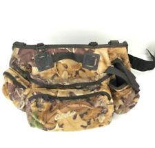 Cabela's Large Hunting Gear Fanny Pack Bag Woodland Camo Missing Strap