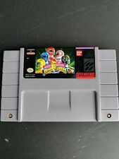 Mighty Morphin Power Rangers (Authentic) (Super Nintendo, SNES) Tested & Cleaned
