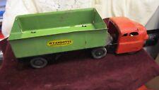 Vintage Wyandotte Toys Pressed Steel Side Dump Truck 1940's