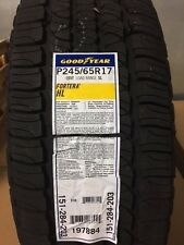 4 NEW P245/65-17 GOODYEAR FORTERA HL 65R R17 TIRES  2456517