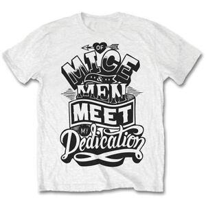 OF MICE & MEN- DEDICATION Official T Shirt Mens Licensed Merch New