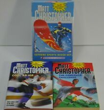 Extreme Sports 4 YA Paperback Box Set - Matt Christopher NEW SEALED Plus 2 more!