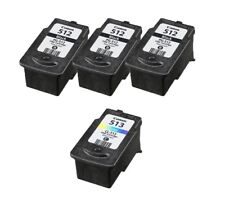 Refilled Ink Cartridge for Canon 3 PG 510 Black & 1 CL 511 Color for PIXMA MP240