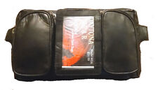 iPhone 6 CELL PHONE MAGNETIC MOTORCYCLE TANK BAG HOLDER NEW LEATHER