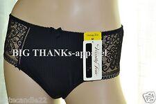 86c0452915ef Set of 2 Vanity Fair European Collection Toscane Black Ivory Brief Panty  Size M