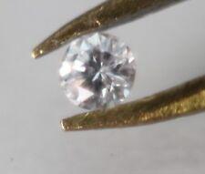 MATCH PAIR (2pcs) of Round Genuine Loose Diamond .03ct 3/100 of Carat SI1 K-L