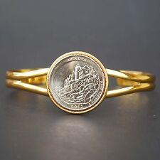 US 2012 Maine Acadia National Park Quarter $ Coin GP Bracelet