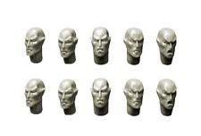 SPELLCROW - 10x Têtes Eldar (Space Elves Heads 5504) *Warhammer 40k Bitz*