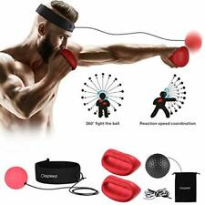 Clispeed Boxing Reflex Ball Reaction Training Balls With Headband and Gloves for