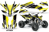 ATV Graphics Kit Decal Sticker Wrap For Yamaha YFZ450R/SE 2009-2013 ATTACK YELLO