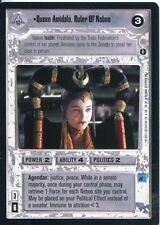 Star Wars CCG Coruscant Rare Queen Amidala Ruler Of Naboo