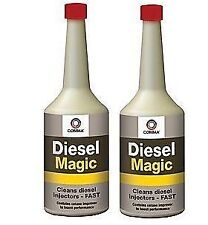 2 x Comma Diesel Magic 400ml - Fuel Cleaner Additive, Injector Cleaner