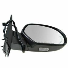 Mirror Power Folding Heated Signal Puddle Memory Textured Black Right RH for GM