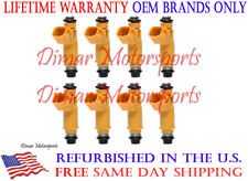 Lifetime Warranty - Set of 8 OEM Fuel Injectors 2W93-AA