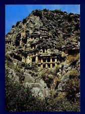 TURKEY - TURCHIA - Cartolina - 1984 - Antalya, Demre (Myra), rock tombs