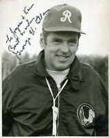 George Allen JSA Coa Hand Signed 8x10 Photo Autograph