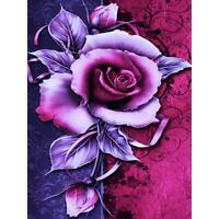 5D DIY Full Drill Diamond Painting Flower Cross Stitch Embroidery Mosaic #gib