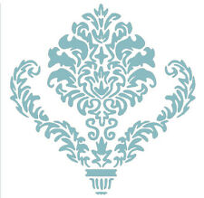 Symmetric Damask Wall Painting Stencil Template Hollow Out Home DIY Decor
