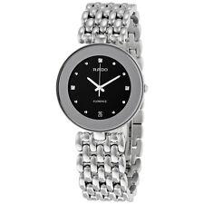 Rado Flourence Black Dial Stainless Steel Ladies Watch R48792153