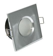 Einbaustrahler GU10 LED 230V Spot Einbaurahmen Einbauspot Deckenstrahler Set 8W