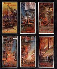 Heavy Industry On The Rhine German Gartmann Card Set 1900s Steel Foundry Iron