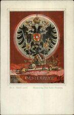 Sheild of Austria Oesterreich Paul Kohl Series #8 c1900 Postcard