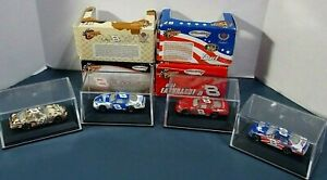 LOT OF 4 RARE DALE EARNHARDT JR. #8 - 1/87 WINNERS CIRCLE NASCAR DIECASTS - NEW