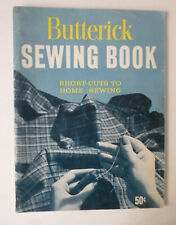 """Used """"Butterick Sewing Book - Shortcuts to Home Sewing"""" (1959) 80 pgs 8 Photos"""