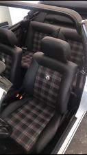 VW Golf 1 Cabrio Lederausstattung GTI oder GTE VW Stoff ORG