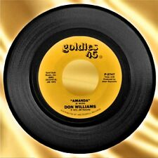 1973  Don Williams 'Amanda/The Shelter Of Your Eyes' Goldies 45 RPM