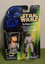 STAR WARS CARDED POWER OF THE FORCE GREEN CARD AT-ST DRIVER