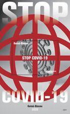 Guinea-Bissau Medical Stamps 2020 MNH Corona Health 1v Silk M/S