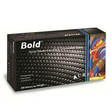 Aurelia Bold Black Nitrile Gloves Examination - Large -100/Box