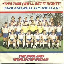 THE ENGLAND WORLD CUP SQUAD 1982 - THIS TIME (WE'LL GET IT RIGHT) - SOCCER THEME