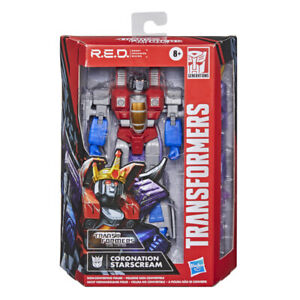 Transformers R.E.D Starscream Action Figure